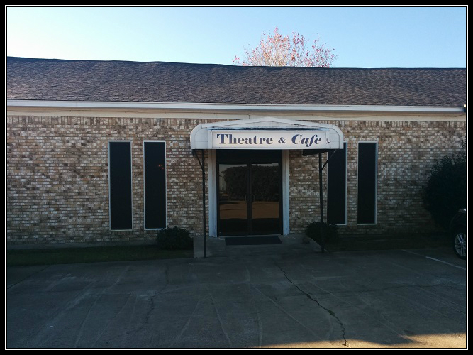 Entrance to the Faith West Theater.